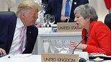 ماي وترامب لا يعتزمان بحث الخلاف الدبلوماسي المتصاعد بينهما