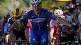 Cycling: Viviani wins Tour de France stage four, Alaphilippe stays in yellow