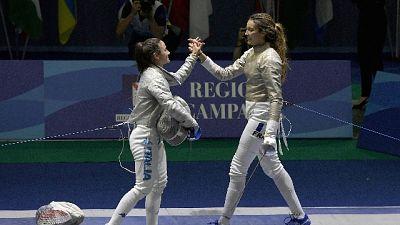 Sciabola donne a squadre, oro Italia