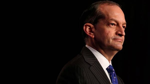 Trump defends cabinet member Acosta embroiled in Epstein sex-abuse case