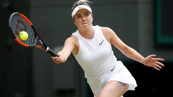 Svitolina becomes first Ukrainian woman to reach major semi