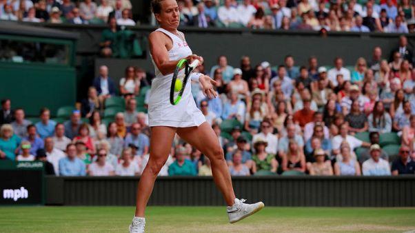 Strycova stuns Konta to reach Wimbledon semi-finals