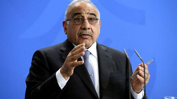 """رئيس الوزراء: أي تعطل لصادرات النفط عبر هرمز سيشكل """"عقبة كبيرة"""" لاقتصاد العراق"""