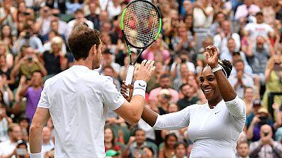 Serena thrills as 'Dream Team' turn mean machine at Wimbledon