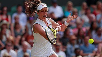 Stop picking on me, says Konta after Wimbledon exit