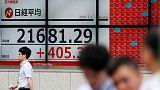 المؤشر نيكي ينخفض 0.30% في بداية التعامل في طوكيو