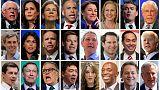 Factbox: Two Republicans, 25 Democrats vie for U.S. presidential nomination
