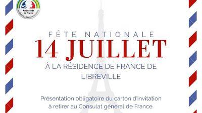Informations pratiques - Le 14 juillet à la résidence de France