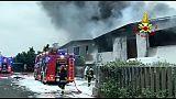 Finite operazioni pompieri a Settimo