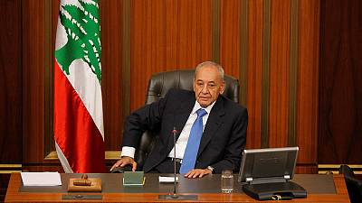 Lebanon speaker says U.S. sanctions are an assault on parliament