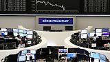European shares slip ahead of U.S. Fed chief Powell's testimony