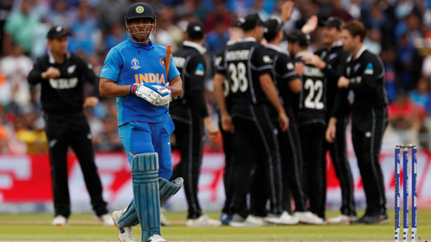 Image result for New Zealand stun India to reach final despite Jadeja heroics
