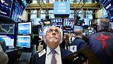 الأسهم الأمريكية تفتح مرتفعة بعد تصريحات باول عن خفض الفائدة