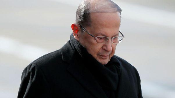 رئيس لبنان يأسف لفرض أمريكا عقوبات على نائبين بالبرلمان