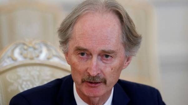 U.N., Syria close to agreeing constitutional committee - envoy