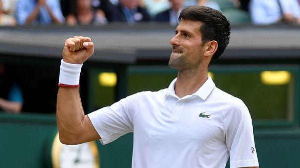 Clinical Djokovic destroys Goffin to reach semis
