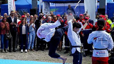 Taekwondo, Flecca bronzo -58 kg
