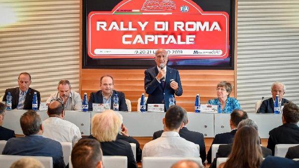 Sport e show,Rally Roma accende i motori