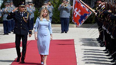 Slovakia's new president takes aim at China's rights record