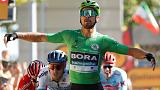 Cycling: Slovak Sagan claims fifth stage of Tour