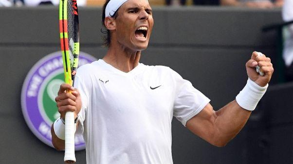 Wimbledon:Querrey ko,Nadal in semifinale