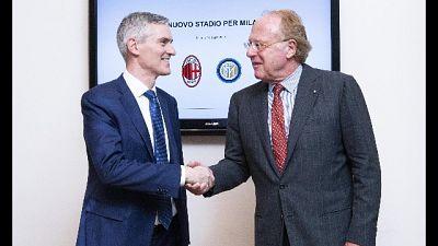 Inter e Milan,stadio a nuove generazioni