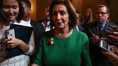 U.S. House Speaker Pelosi tells her Democrats to kill the tweets