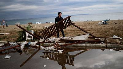 At least seven killed as freak storm lashes Greek resorts