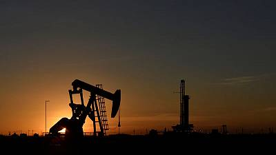 U.S. oil hits highest in over a month amid Gulf of Mexico storm, Iran tensions