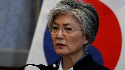 Japan's export curbs 'undesirable', South Korean foreign minister tells Pompeo