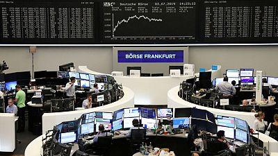 European shares break 4-day losing streak on Fed Powell's dovish remarks