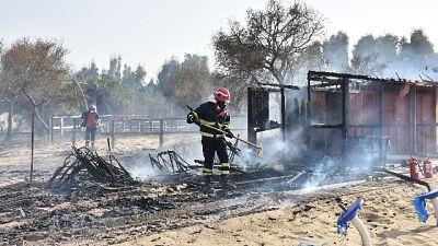 Incendi lidi Catania, la conta dei danni