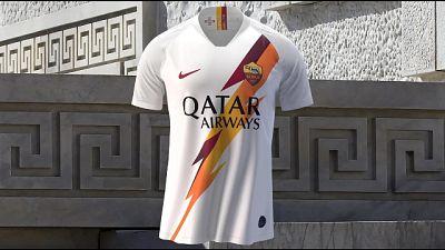 Roma presenta nuova maglia da trasferta