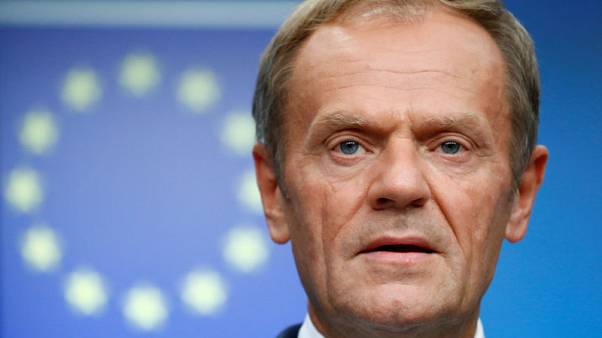 EU's Tusk says Russia's Georgia flight ban 'unjustified'