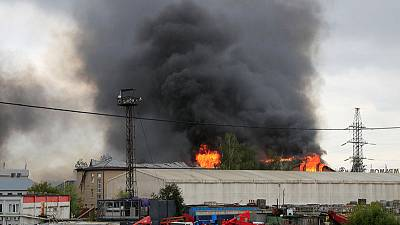 Fire kills one, injures 13 at power plant blaze near Moscow - Russian media