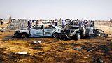 مصادر: مقتل 3 في انفجار سيارة ملغومة في جنازة ببنغازي شرق ليبيا