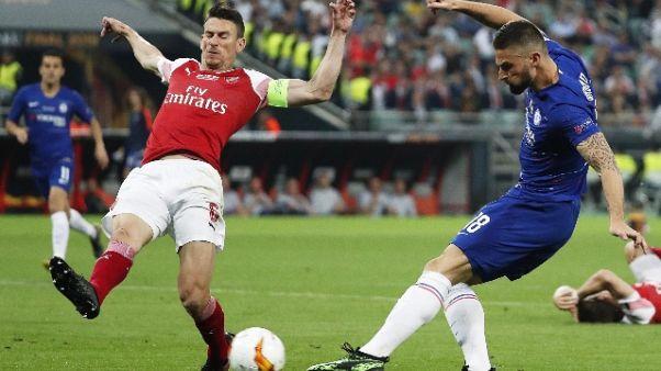 Koscielny rifiuta tournée dell'Arsenal