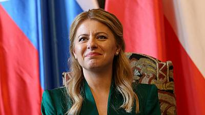 Slovakia's new president calls on EU's eastern bloc to respect rule of law