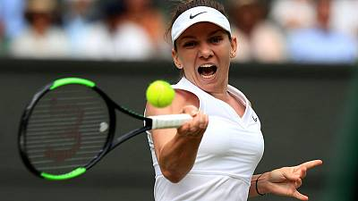 Halep rolls over Svitolina to reach first Wimbledon final