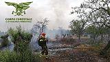Allerta alto rischio incendi in Sardegna