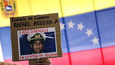 U.S. sanctions Venezuela counterintelligence agency after death of navy captain