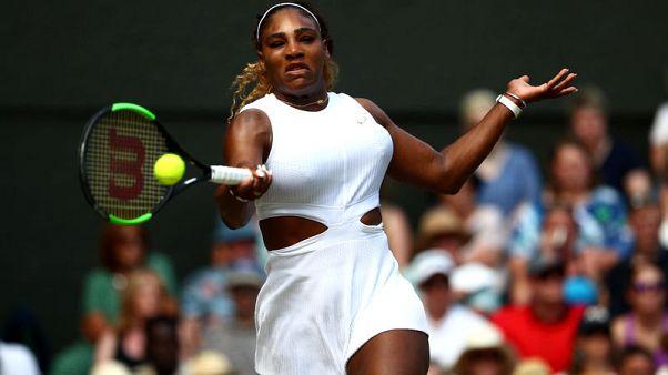 Serena powers past Strycova into Wimbledon final