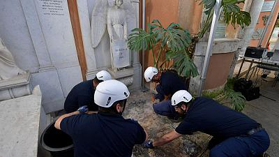 At Vatican, empty tombs add new twist to missing girl mystery