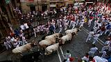 One gored among seven hurt on fifth day of Pamplona bull-running
