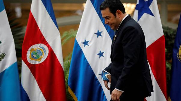 Guatemala's president Morales to visit Washington amid asylum negotiations
