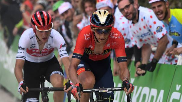 Cycling - Ciccone turns blue into yellow on Tour de France debut