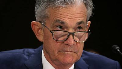 Fed's Powell affirms rate cut view; see U.S. economy humming