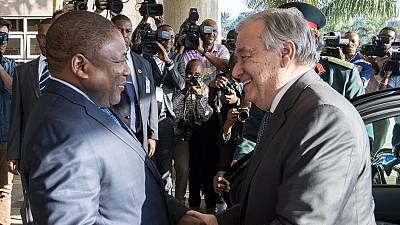 In Mozambique, it's 'a matter of the heart' says Guterres, lauding the cyclone-struck nation's 'undeniable moral authority'
