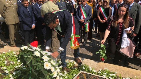 Strage treni in Puglia,commemorazione