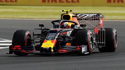 Gasly fastest in first British GP practice